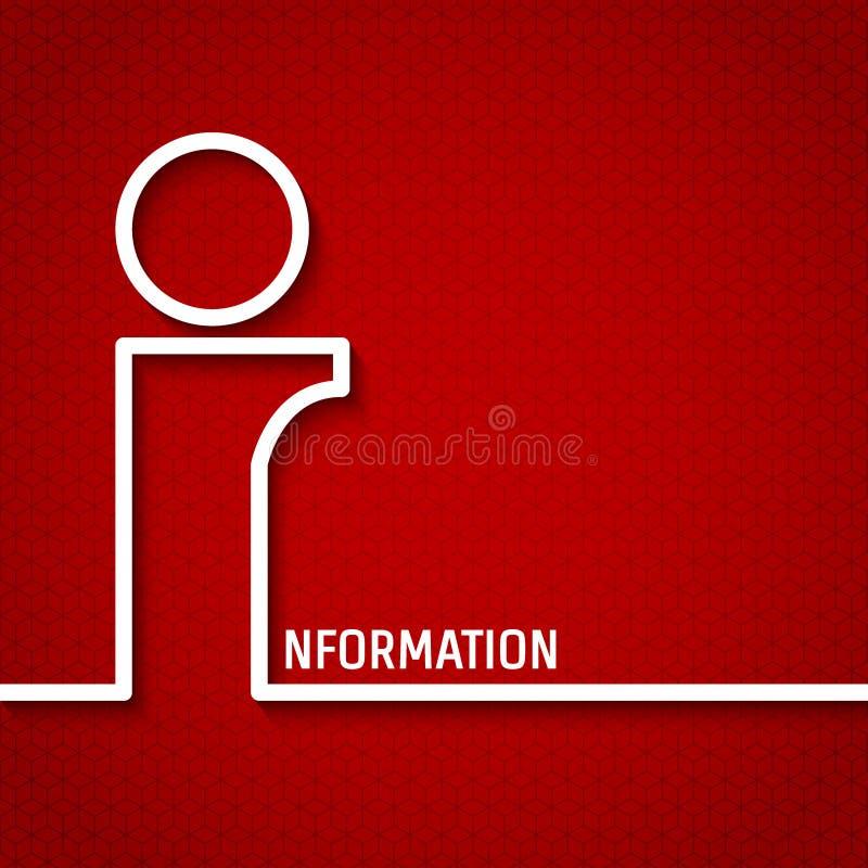 l'information illustration de vecteur