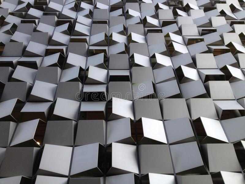 L'Inghilterra britannica Yorkshire Sheffield Modern Architecture fotografia stock