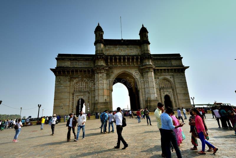 L'ingresso in India fotografia stock