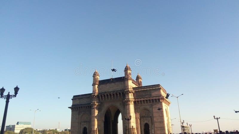 L'ingresso in India fotografie stock libere da diritti