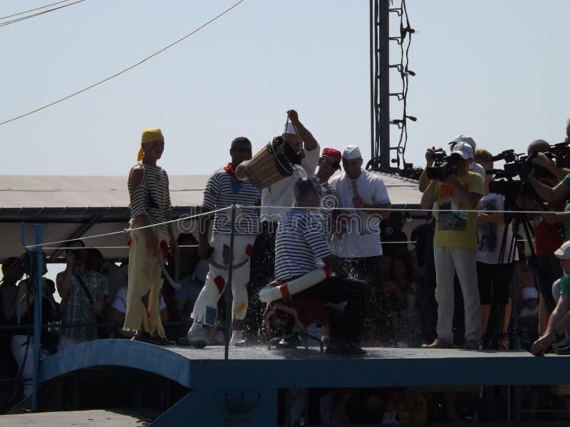 L'inizio di un marinaio immagini stock libere da diritti