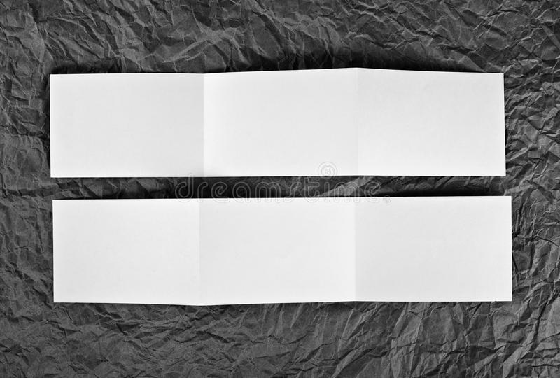 L'insecte vide de zigzag à un gris a ridé le fond de papier image stock