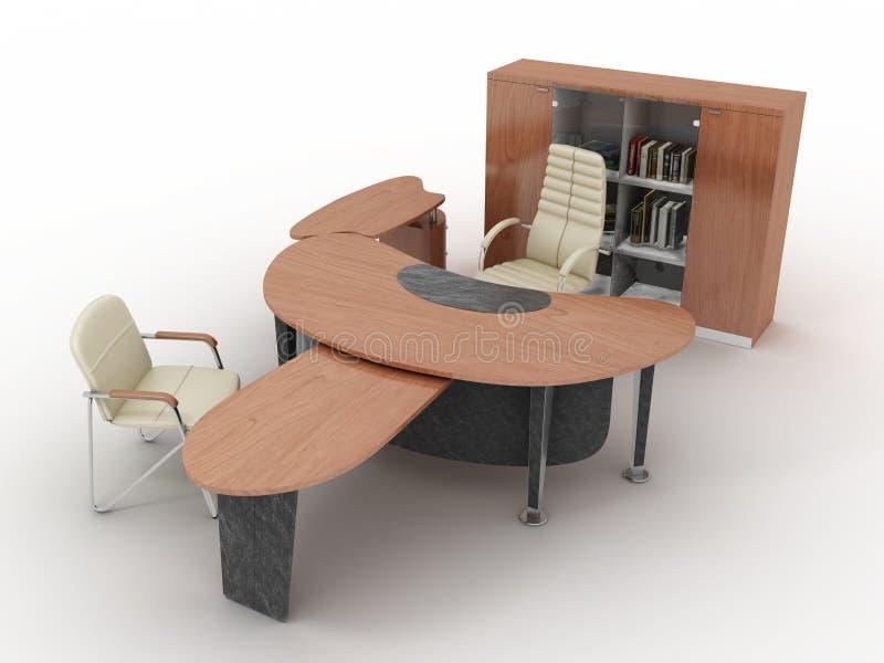 L'insieme completo della mobilia illustrazione vettoriale