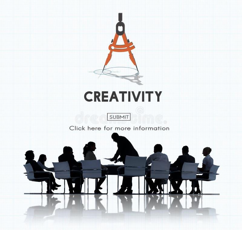 L'inspiration d'aspiration de créativité inspirent le concept de qualifications image stock
