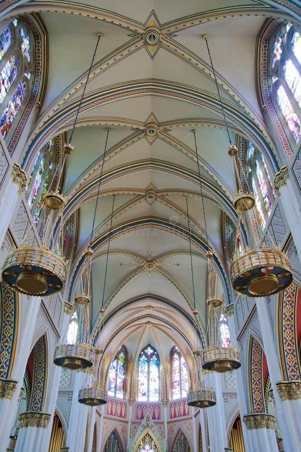 L'intérieur de la cathédrale photographie stock libre de droits
