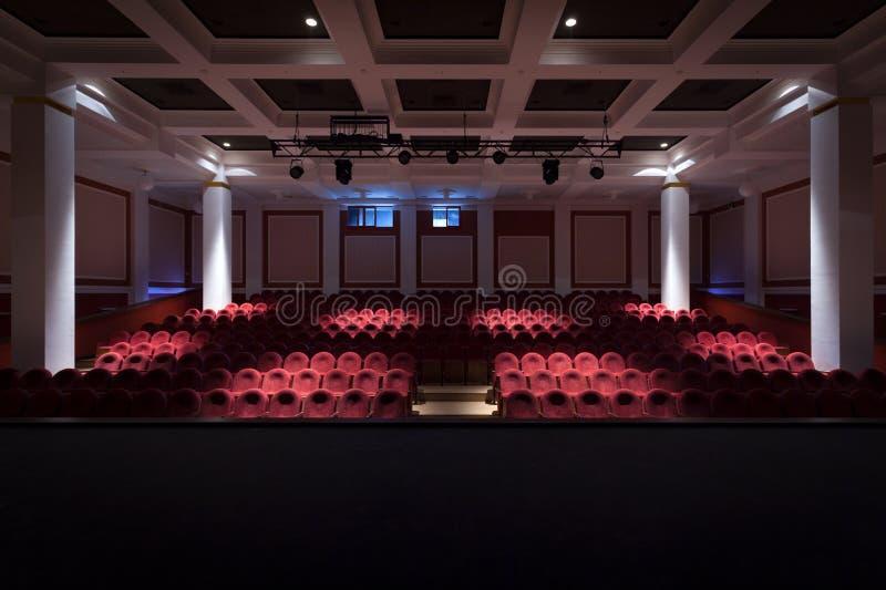 L'intérieur du hall dans le théâtre photos stock