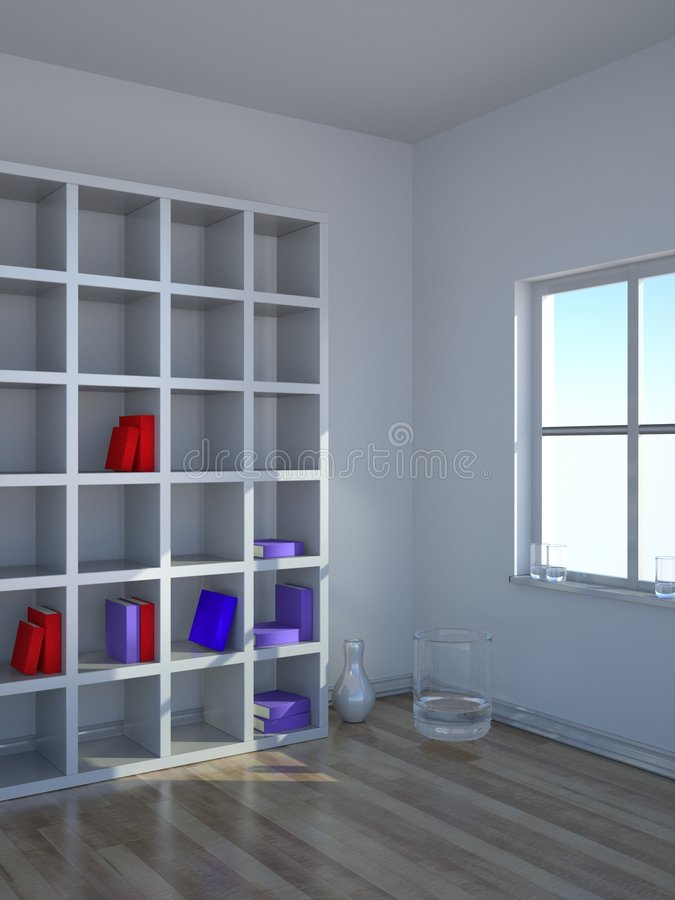 L'interiore moderno 2 royalty illustrazione gratis