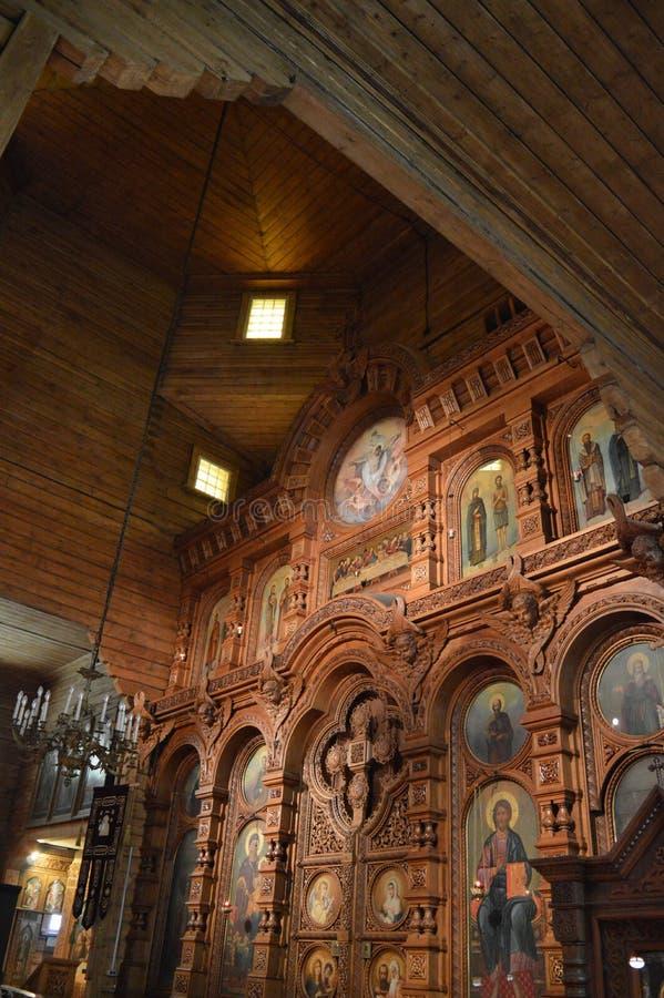 L'interno del tempio immagini stock