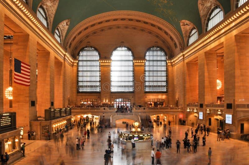 L'interno della stazione ferroviaria di Grand Central fotografie stock