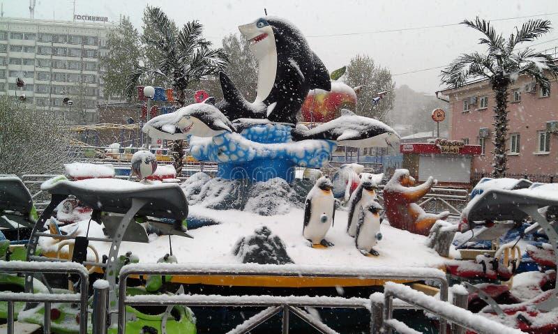L'inverno sta venendo immagini stock