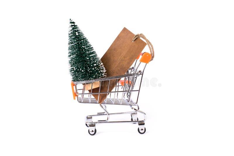 L'inverno sta venendo si affretta! Buon Natale! Regalo di costo dal concetto di Santa Claus Fine laterale di profilo sulla foto d fotografia stock libera da diritti