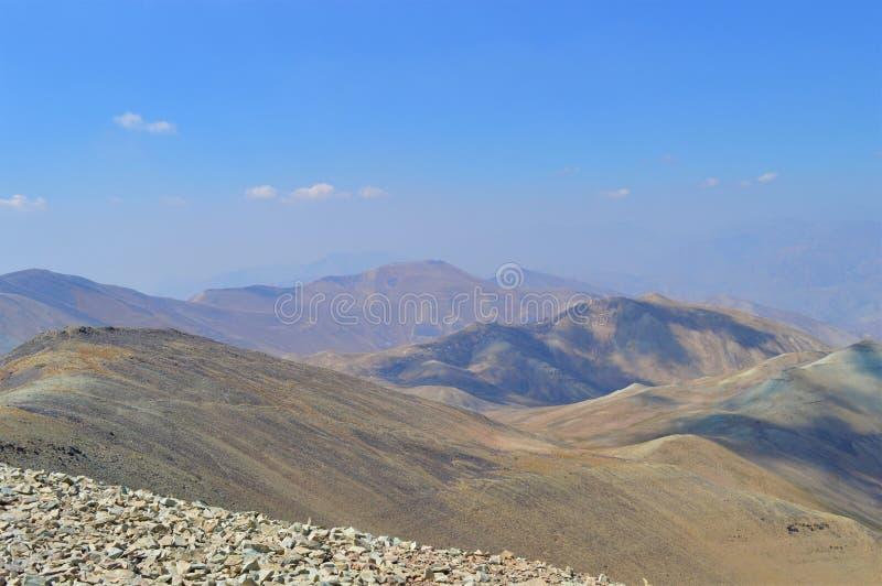 l'iran Capitale iranienne Téhéran Escalader la montagne images stock