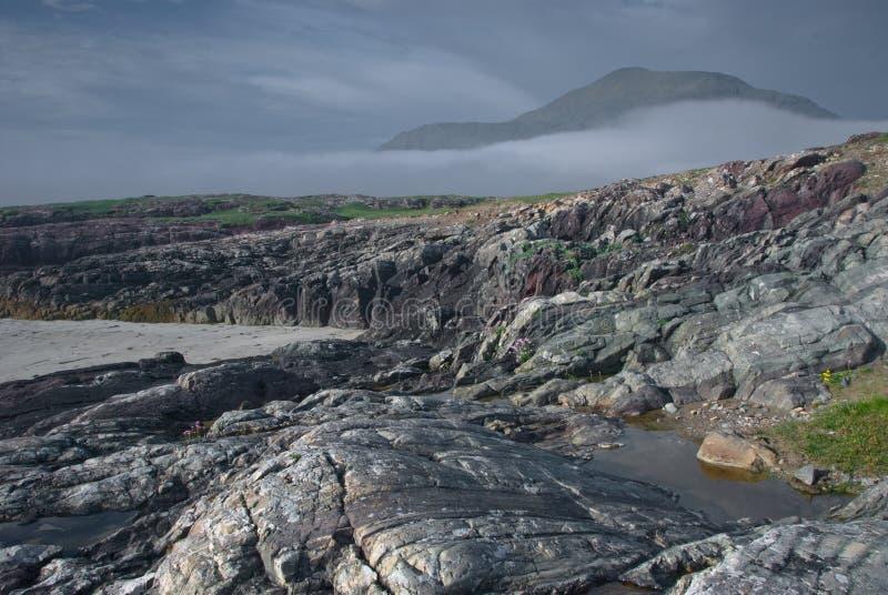 L'Irlanda, Connemara, Co.Galway fotografia stock libera da diritti