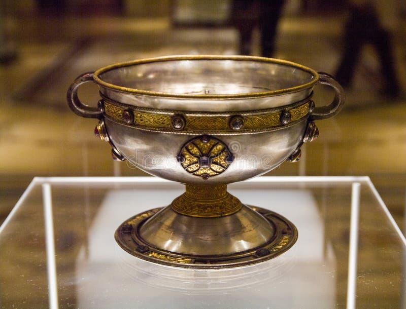 l'irlanda dublino Museo nazionale dell'Irlanda archaeology fotografie stock libere da diritti
