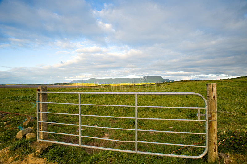 L'Irlanda rurale fotografie stock