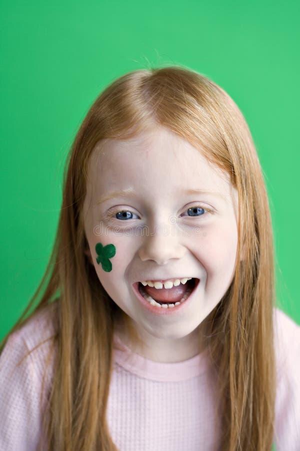 l'Irlandais observe Smilin photographie stock libre de droits