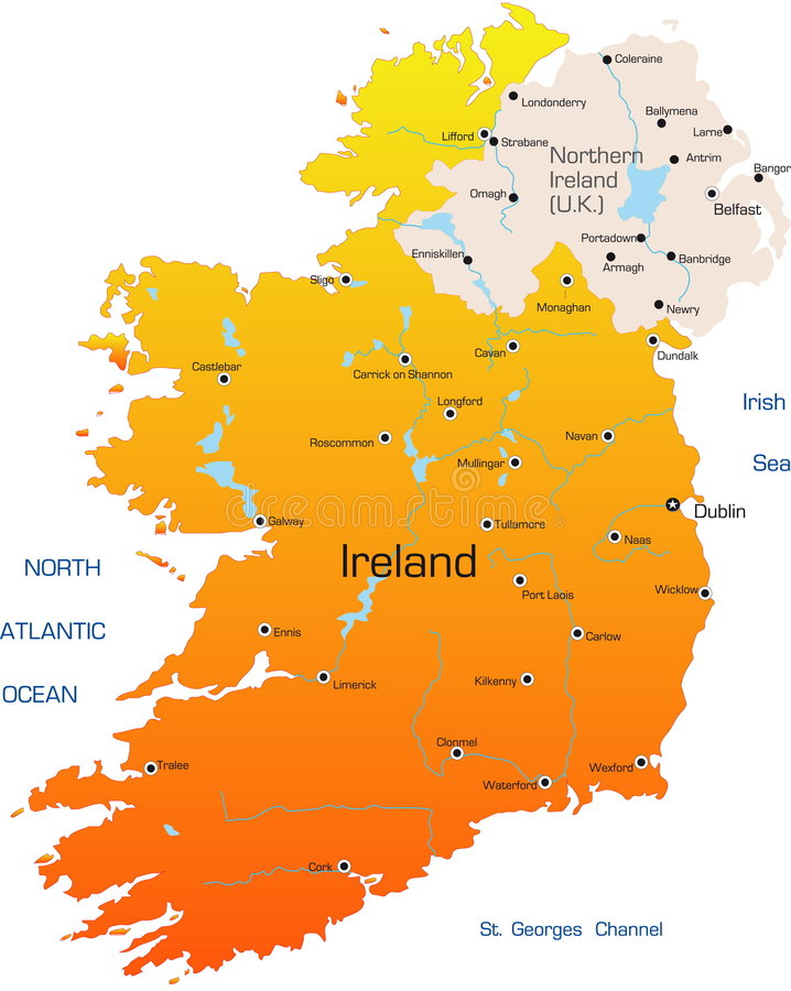 l'Irlande illustration libre de droits