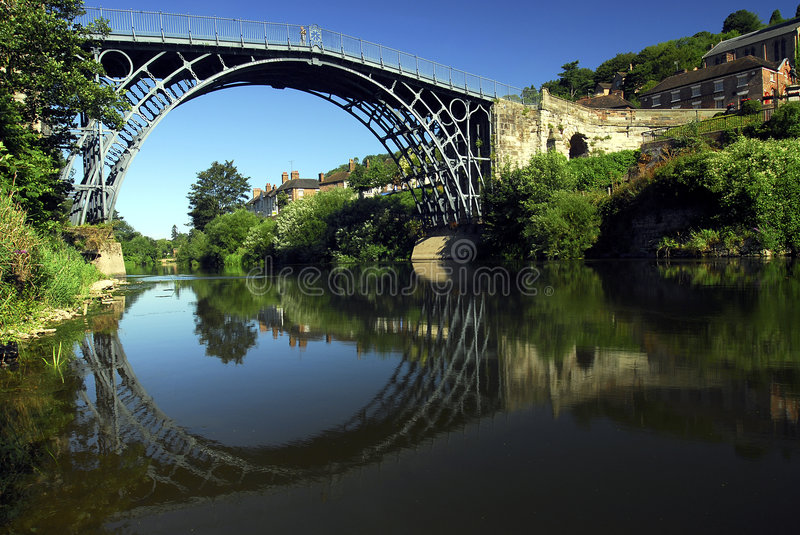 l'Ironbridge photo libre de droits