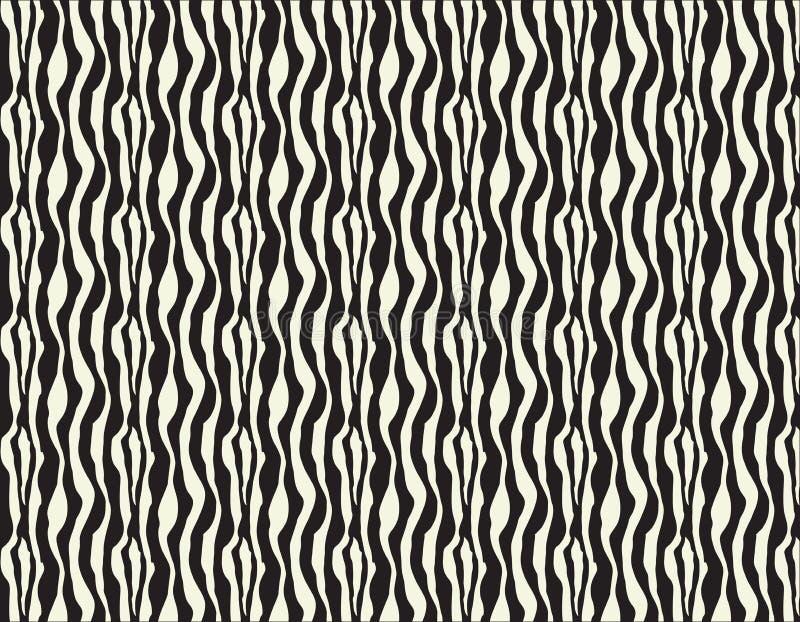 L'irregolare in bianco e nero senza cuciture di vettore arrotondato allinea il modello di semitono del fondo dell'estratto di tra illustrazione vettoriale