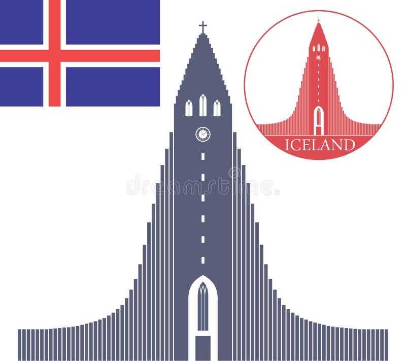 l'islanda illustrazione vettoriale