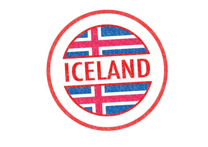 l'islande illustration stock