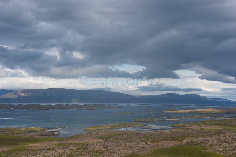 L'Islande, fjords est photographie stock libre de droits