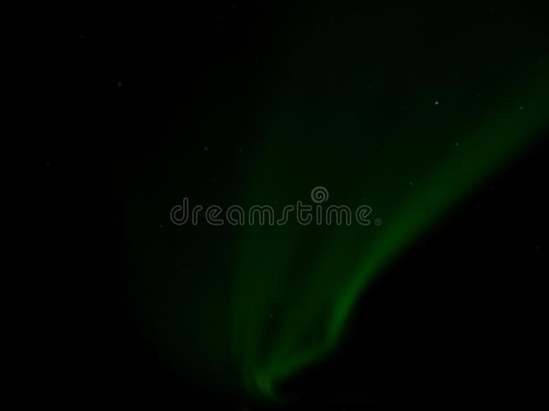 L'Islande - lumières du nord de danse photo stock