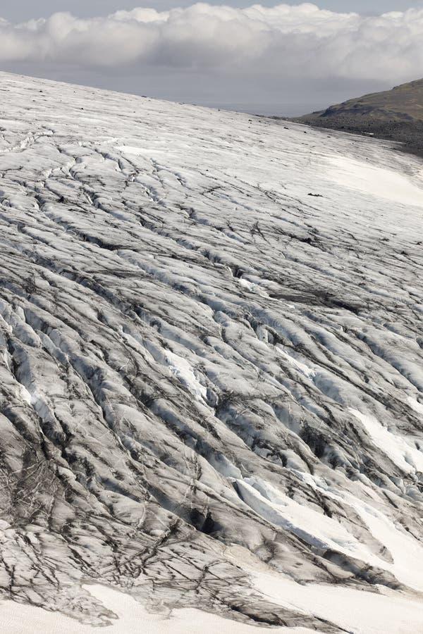 L'Islande. Secteur du sud-est. Glacier de Skalafelllsjokull. photos libres de droits