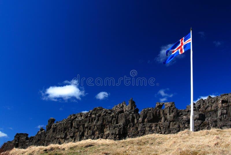 l'Islande-Tingvellir photographie stock