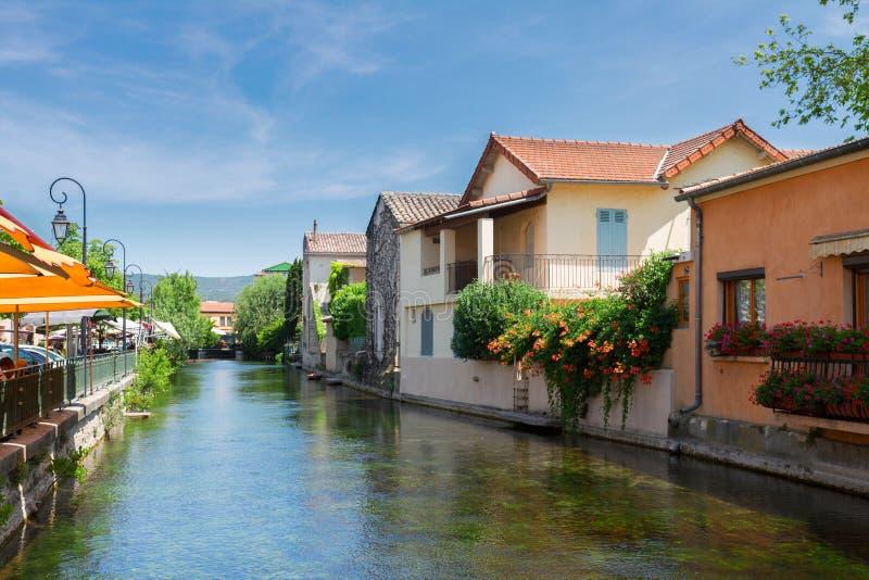 L'Isle-sur-La-Sorgue, France, Provence photo stock