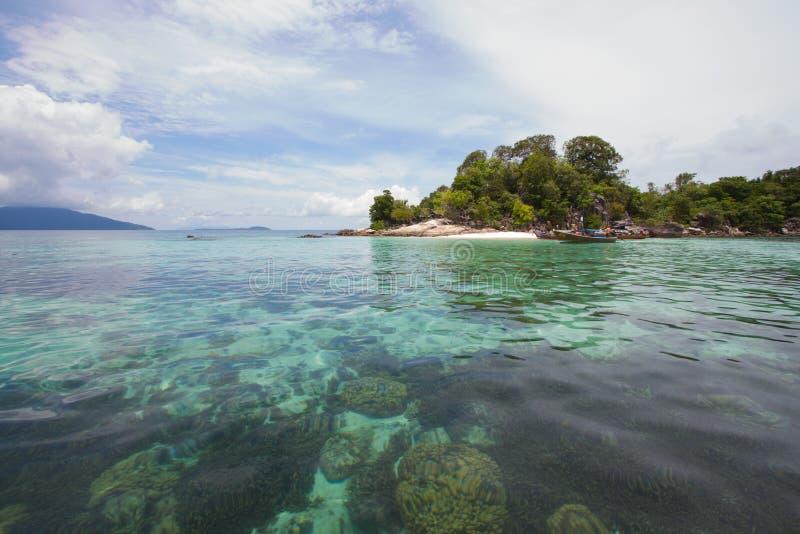 L'isola fotografia stock libera da diritti