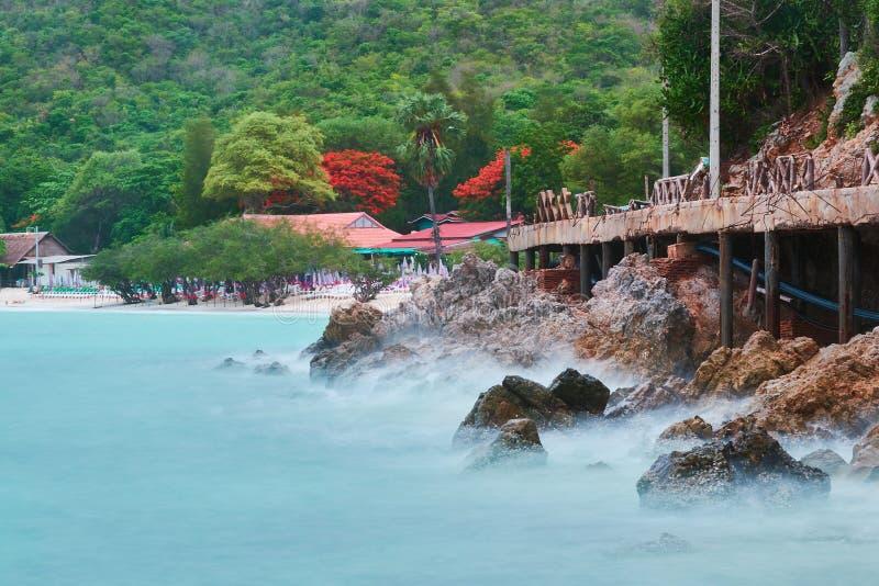 L'isola del larn del KOH fotografia stock libera da diritti