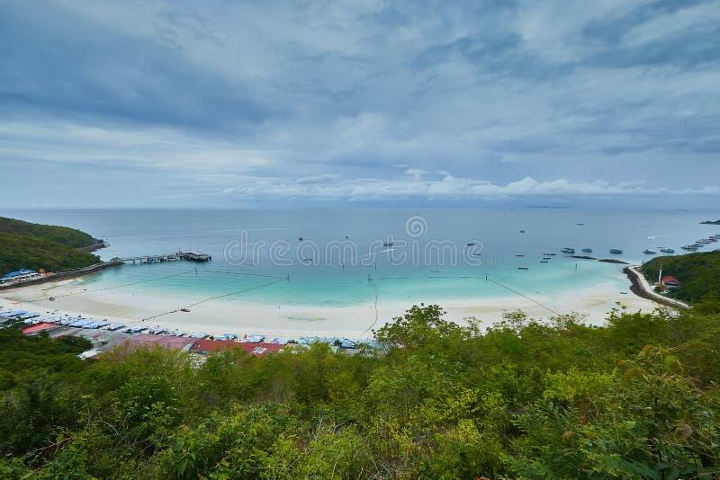 L'isola del larn del KOH immagini stock libere da diritti