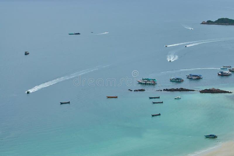 L'isola del larn del KOH immagini stock