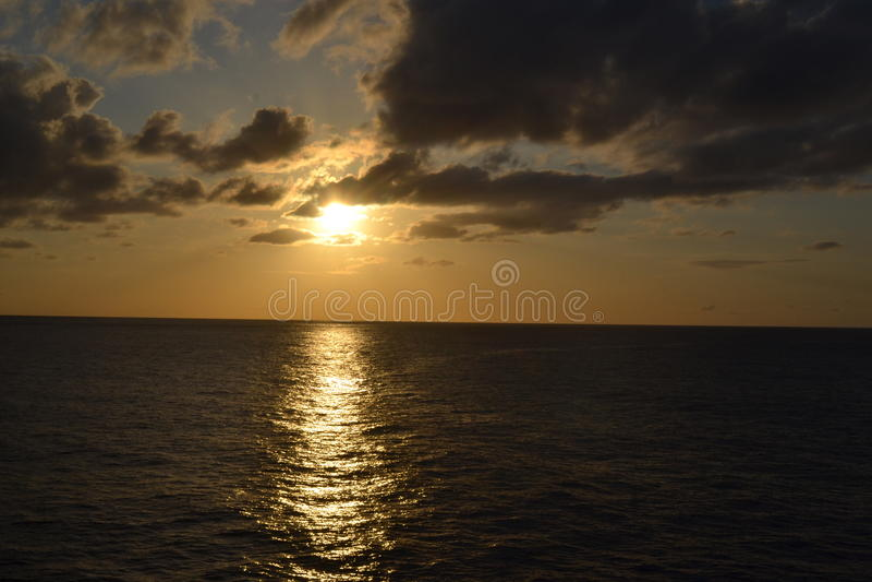 L'isola del Pacifico fotografie stock libere da diritti