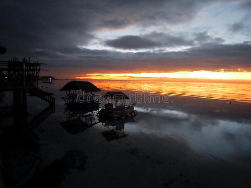 L'isola di Cebu, oslob, Filippine fotografia stock libera da diritti
