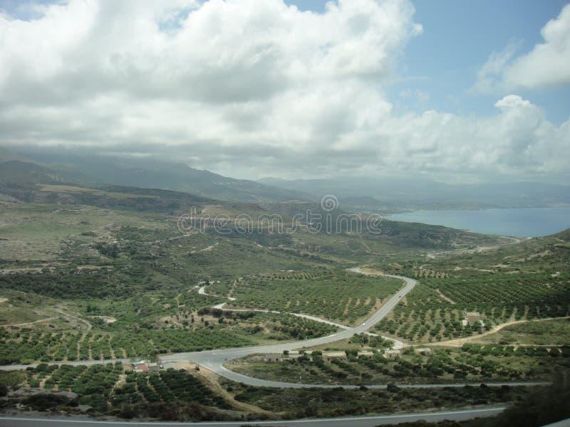 L'isola di Crete fotografia stock