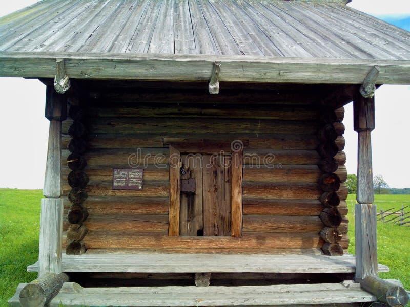 L'isola di Kizhi ha individuato nel lago Onega Repubblica di Carelia La costruzione della chiesa La lista del patrimonio mondiale immagini stock