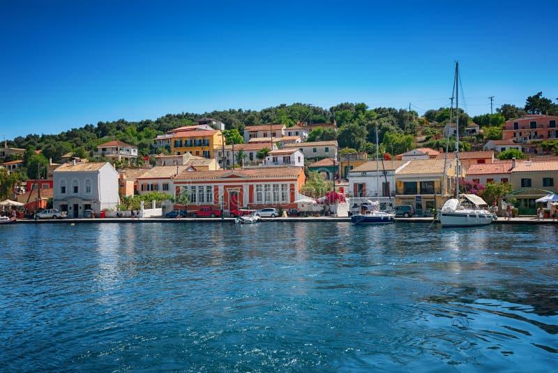 L'isola di Paxos, Grecia fotografia stock libera da diritti