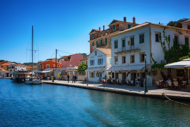 L'isola di Paxos, Grecia immagine stock libera da diritti