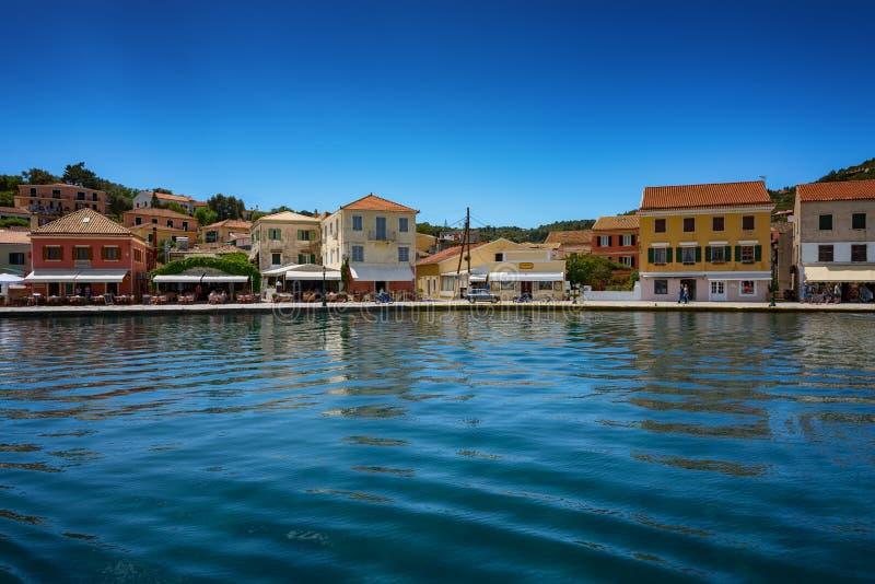 L'isola di Paxos, Grecia fotografie stock libere da diritti