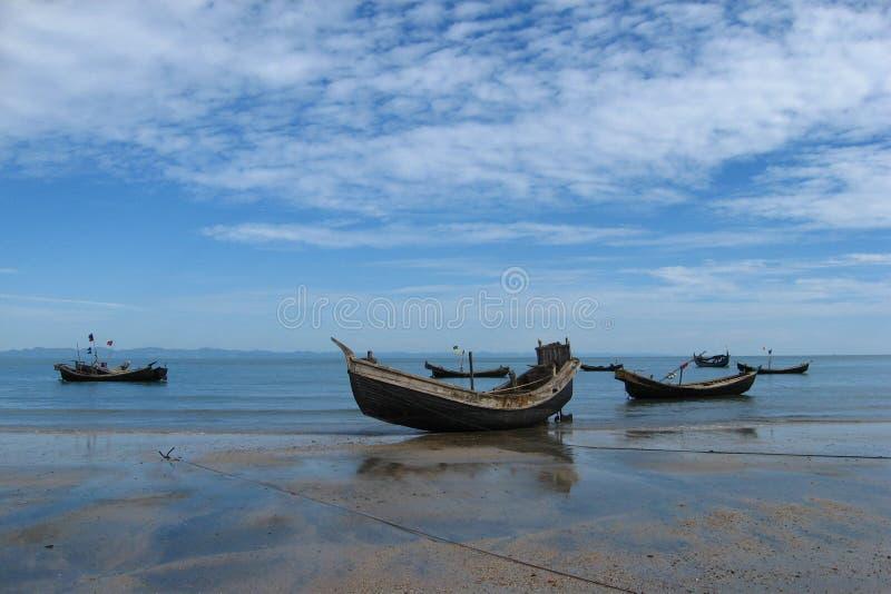 L'isola di San Martino fotografia stock