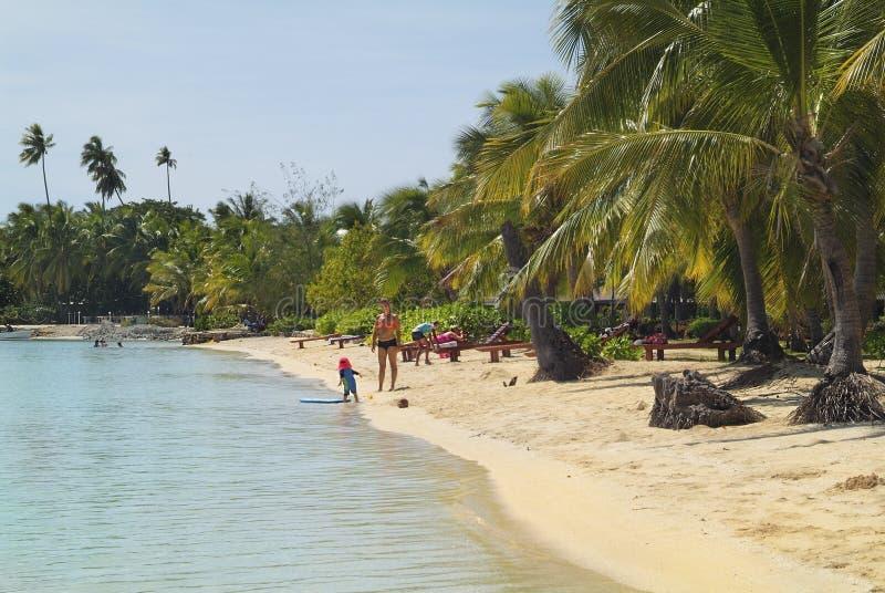 L'isola Figi, fotografie stock libere da diritti