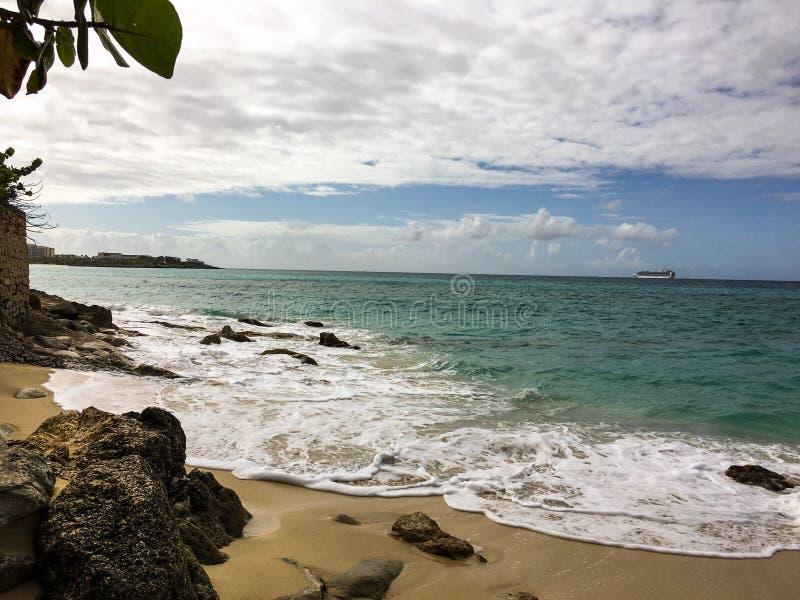 L'isola i Caraibi vive immagini stock
