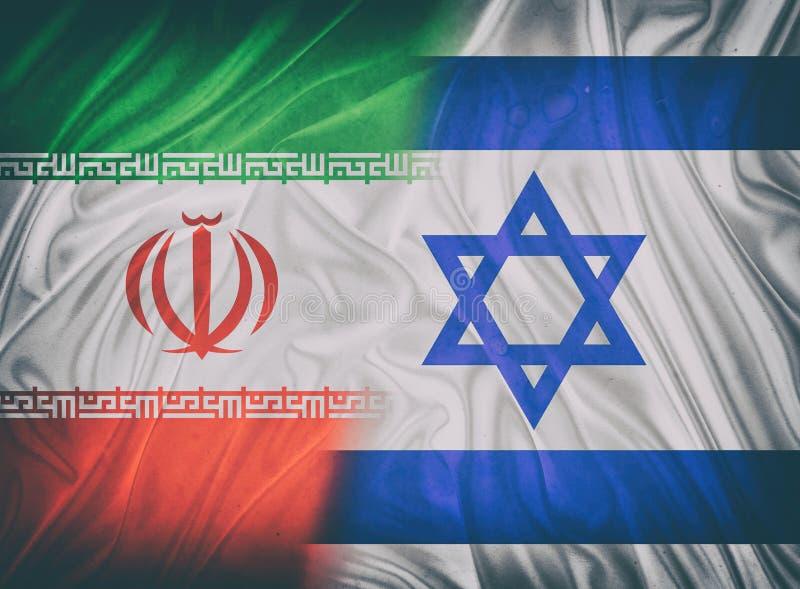 l'Israël et l'Iran image stock