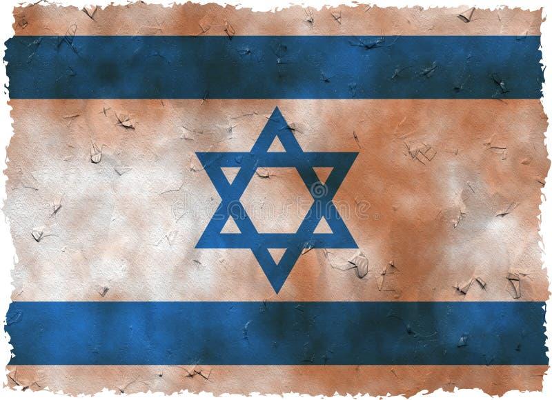 l'Israël grunge illustration stock