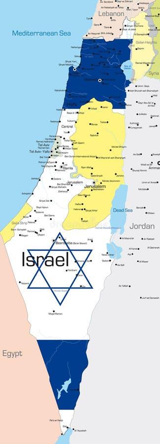 L'Israele illustrazione vettoriale