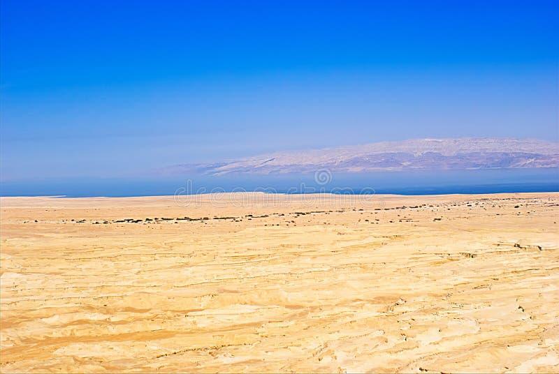 Israele deserto della Giudea Mar Morto fotografie stock libere da diritti