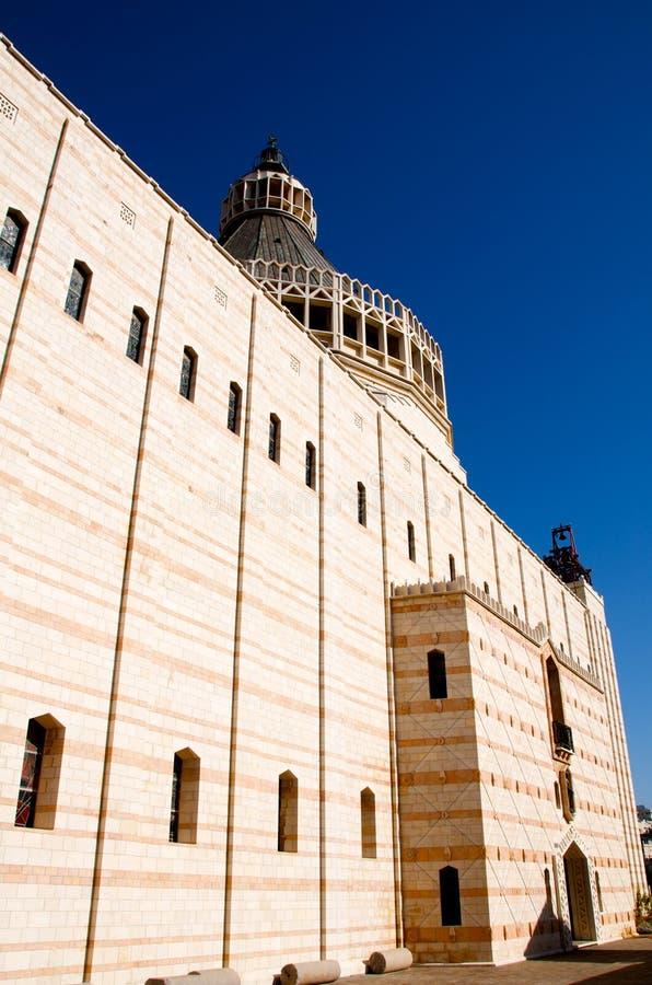 L'Israele Nazareth. Chiesa dell'annuncio. immagini stock libere da diritti