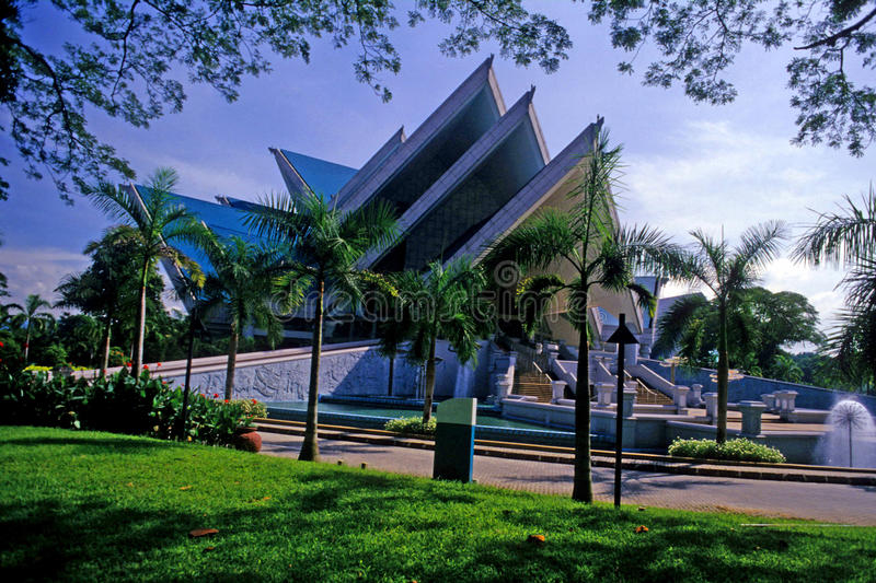 l'Istana Budaya ou le palais de la culture photos stock
